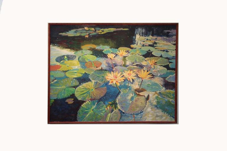 Large Oil on Canvas Jan Kasprzycki 3