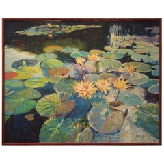Large Oil on Canvas Jan Kasprzycki
