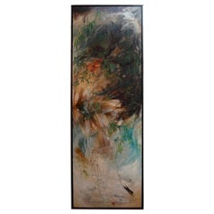 Large Oil on Canvas Signed Thompson Hughes, 1970
