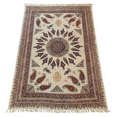 Large Old Persian Batik Textile
