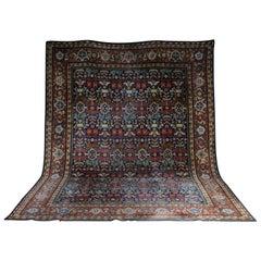 Large Oriental Tefzet Carpet, circa 1920