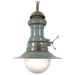 Large Original Moss Green Humphrey Lantern