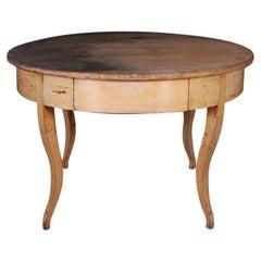 Large Original Painted Breakfast Table