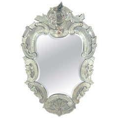 Large Ornate Venetian Mirror