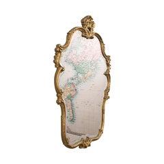 Large Ornate Vintage Mirror, English, Gilt, Hall, Overmantel, Rococo Taste, 1970
