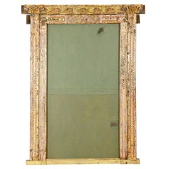 Large Ornately Carved Mirror or Door Frame, 20th Century
