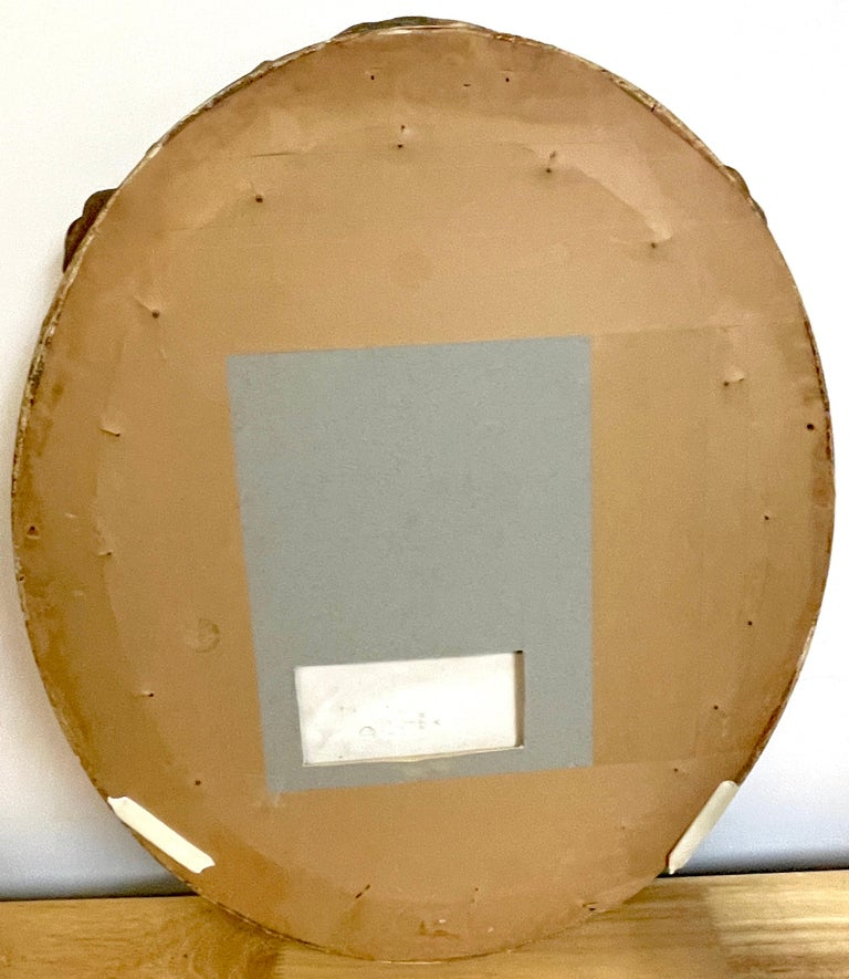 Large Oval Berlin 'K.P.M.' Porcelain Plaque of a Harem Dancer For Sale 6
