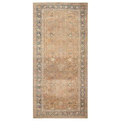 Large Oversize Antique Persian Khorassan Carpet. Size: 12 ft x 28 ft