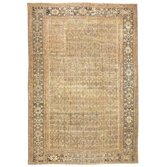 Large Oversize Antique Persian Sultanabad Rug. Size: 14 ft 6 in x 22 ft