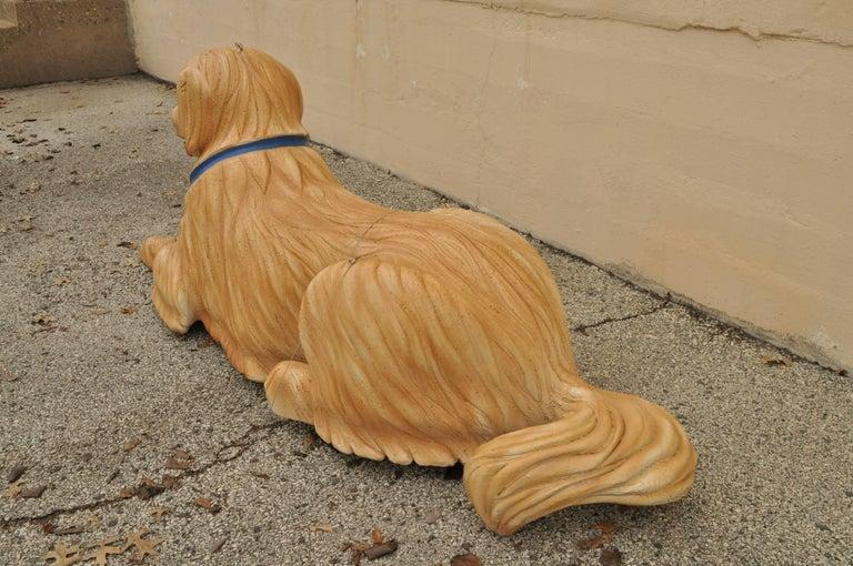 Large Oversize Fiberglass Labrador Retriever Dog Mannequin Retail Store Display For Sale 3