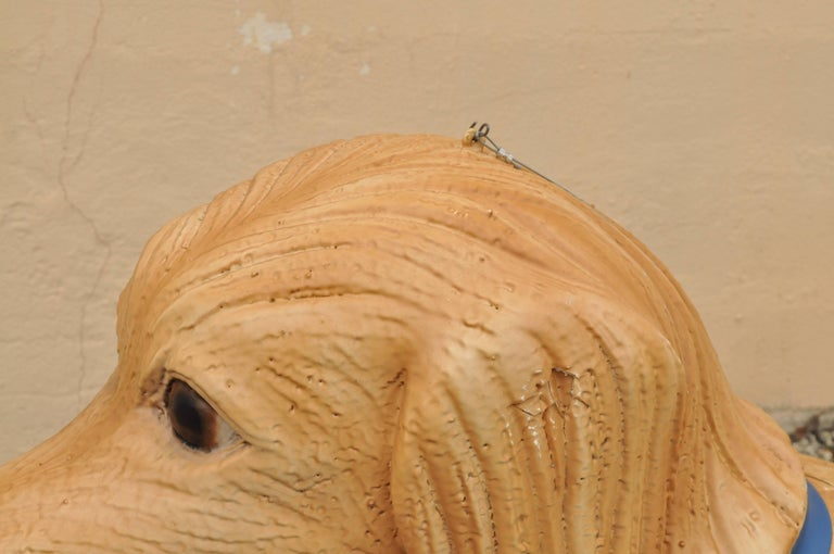 Large Oversize Fiberglass Labrador Retriever Dog Mannequin Retail Store Display For Sale 1