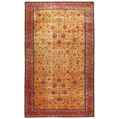 Large Oversized Antique Indian Carpet. Size: 14 ft x 24 ft 6 in