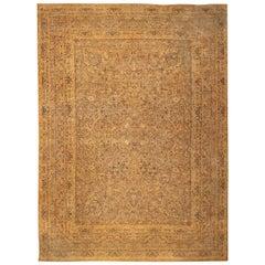 Large Oversized Antique Kerman Persian Rug