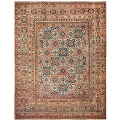 Large Oversized Antique Persian Khorassan Rug. Size: 17 ft x 21 ft 3 in