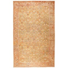 Large Oversized Antique Persian Sultanabad Rug. Size: 15 ft x 24 ft 6 in