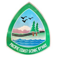 Large Pacific Coast Scenic Highway Sign