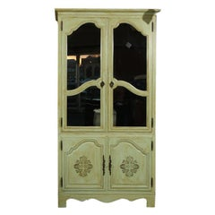 Large Painted Baker Furniture Company Armoire