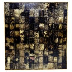 Large Painting by Mi Son Kim 'Korean American'