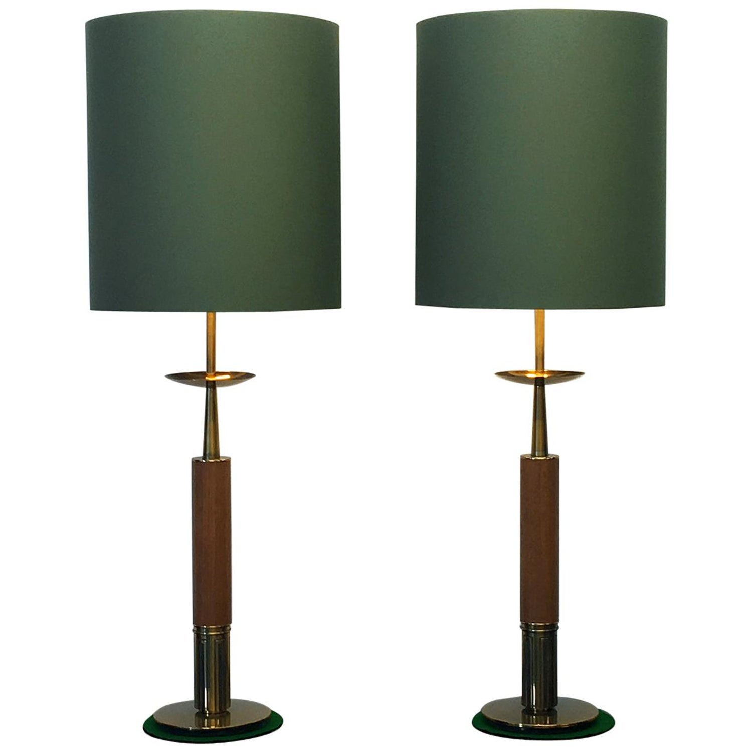 Large pair of 1960s american midcentury table lamps the stiffel lamp company for sale at 1stdibs