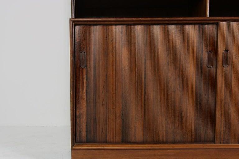 Großes Paar Sideboards Bücherregale Dänische Moderne Regale der 1960er, Ole Wanscher 11
