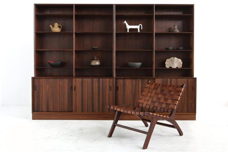Großes Paar Sideboards Bücherregale Dänische Moderne Regale der 1960er, Ole Wanscher 2