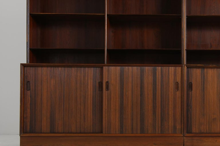 Großes Paar Sideboards Bücherregale Dänische Moderne Regale der 1960er, Ole Wanscher 4