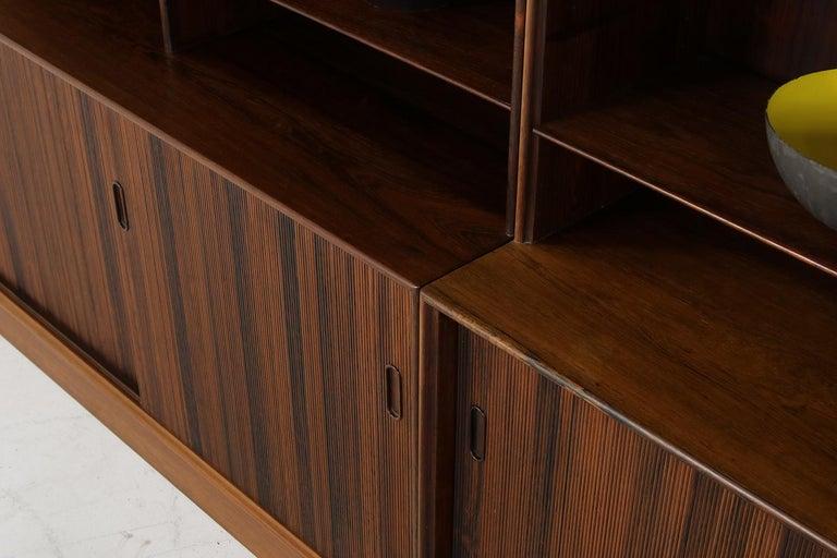 Großes Paar Sideboards Bücherregale Dänische Moderne Regale der 1960er, Ole Wanscher 9