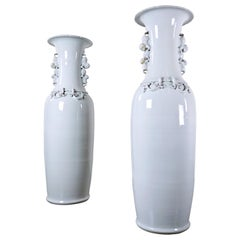 Large Pair of Chinese Porcelain Vases, circa 1900