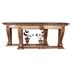 Large Pair of Italian Console Tables