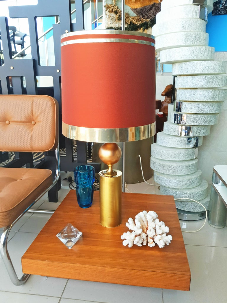 Large Pair of Lyma Table Lamps, Spain, 1970 In Good Condition For Sale In L'Escala, ES