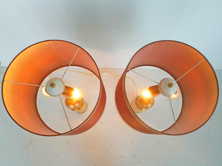 Large Pair of Lyma Table Lamps, Spain, 1970 For Sale 1