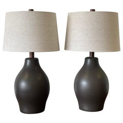 Large Pair of Martz Lamps by Jane and Gordon Martz