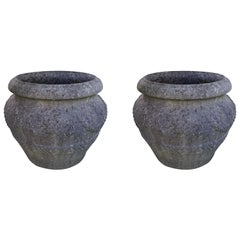 Large Pair of Planters, England, 1920s