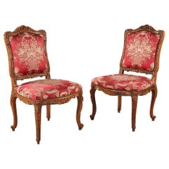 Large Pair of Regence Style Chairs