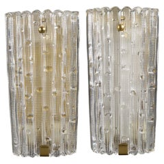 Large Pair of Wall Lights by Carl Fagerlund