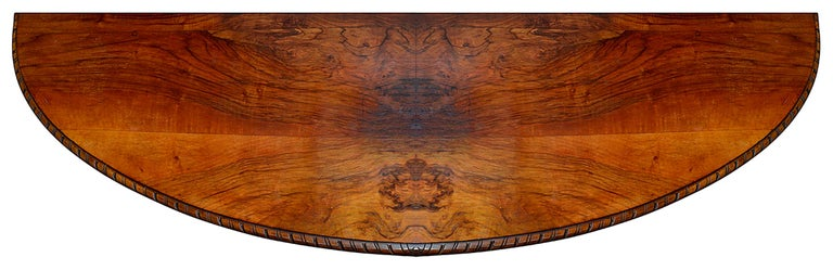 Large Pair Queen Anne Style Walnut Side Cabinets For Sale 2