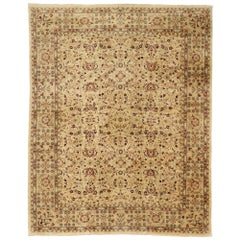 Large Pakistani Vintage Persian Style Rug with Traditional Style