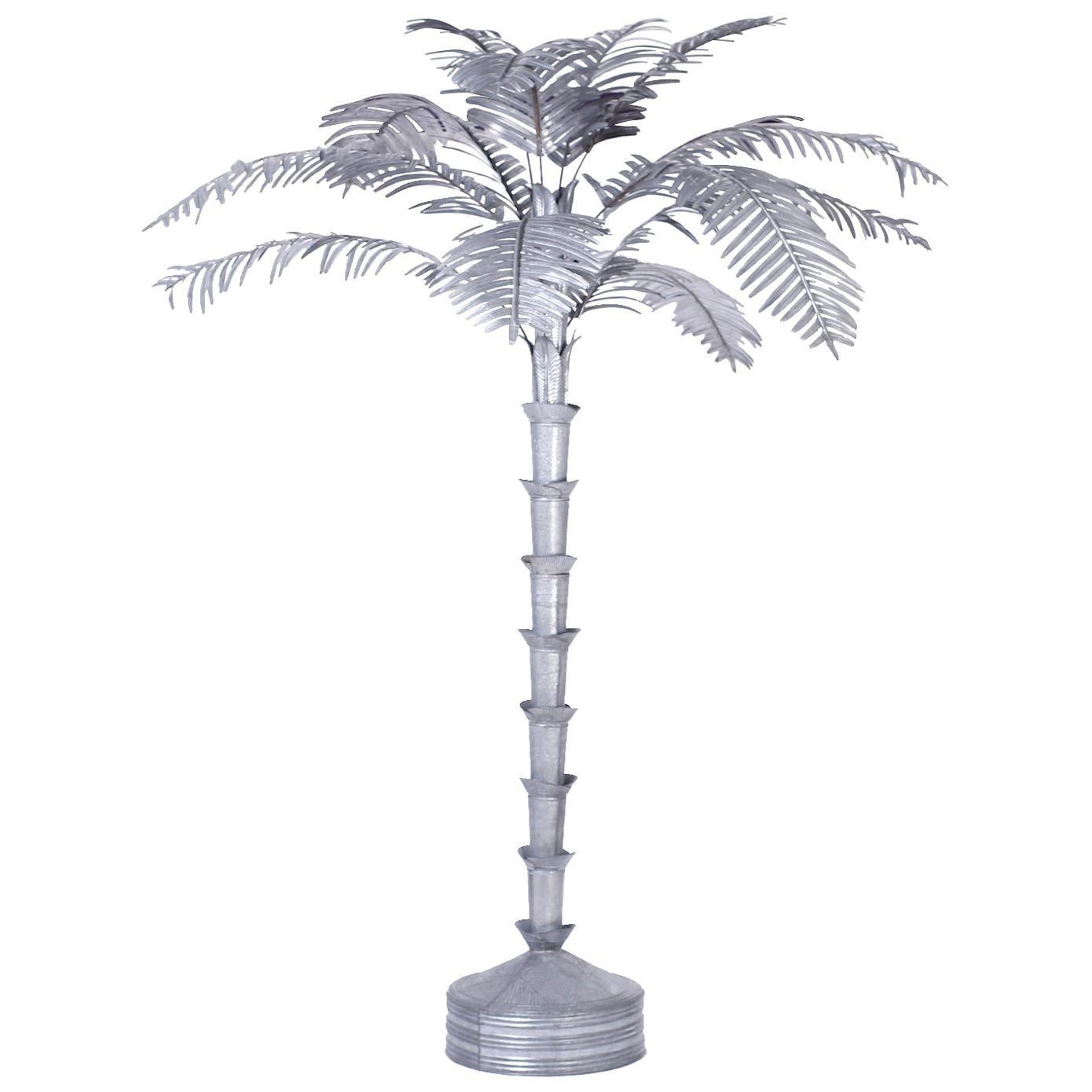 Large Palm Tree Sculpture