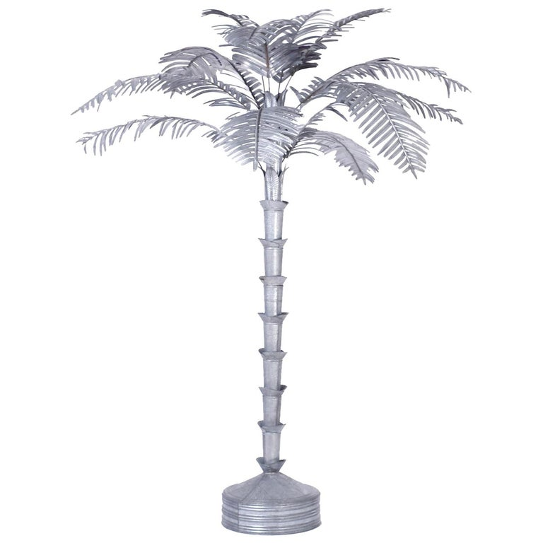 Large Palm Tree Sculpture For Sale