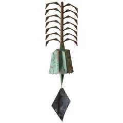 Large Paolo Soleri Bronze Windbell, circa 1970