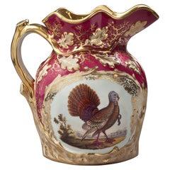 Large Paris Porcelain Jug, circa 1850
