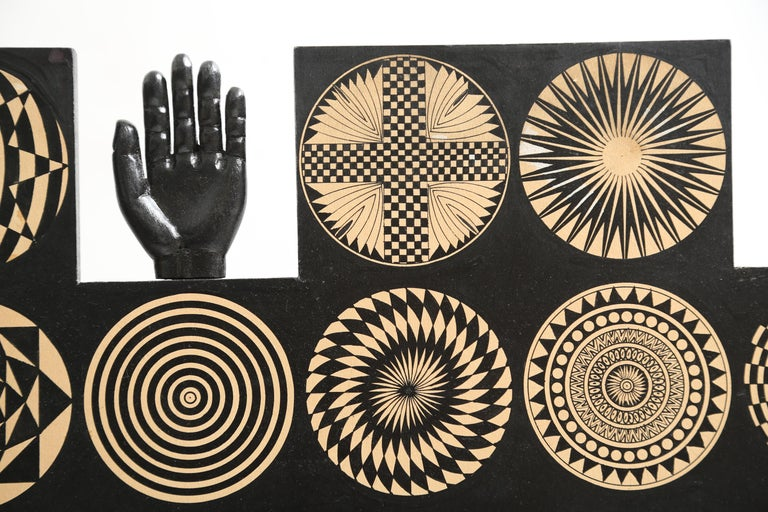 Large Pedro Friedeberg Relief Sculpture/Wall Art, 1970s For Sale 5