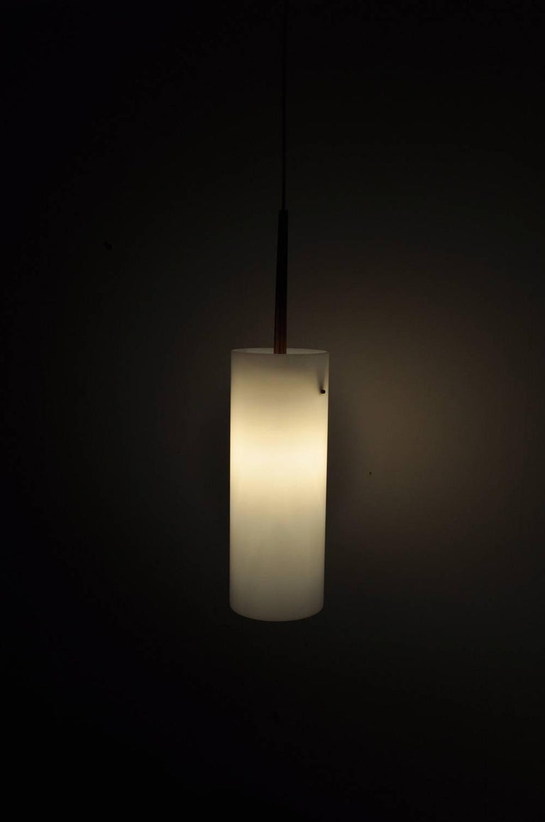 Large Pendant Lamp by Uno & Östen Kristiansson for Luxus 1950s-1960s, Sweden For Sale 3