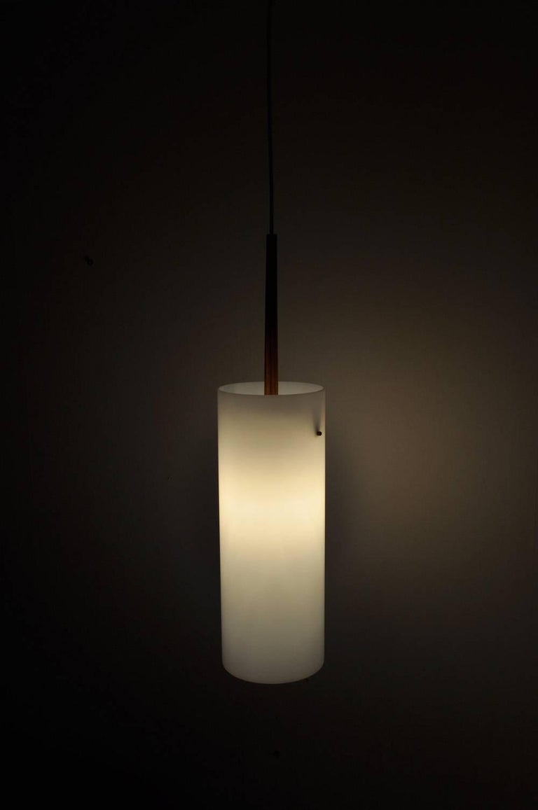 Large Pendant Lamp by Uno & Östen Kristiansson for Luxus 1950s-1960s, Sweden For Sale 4