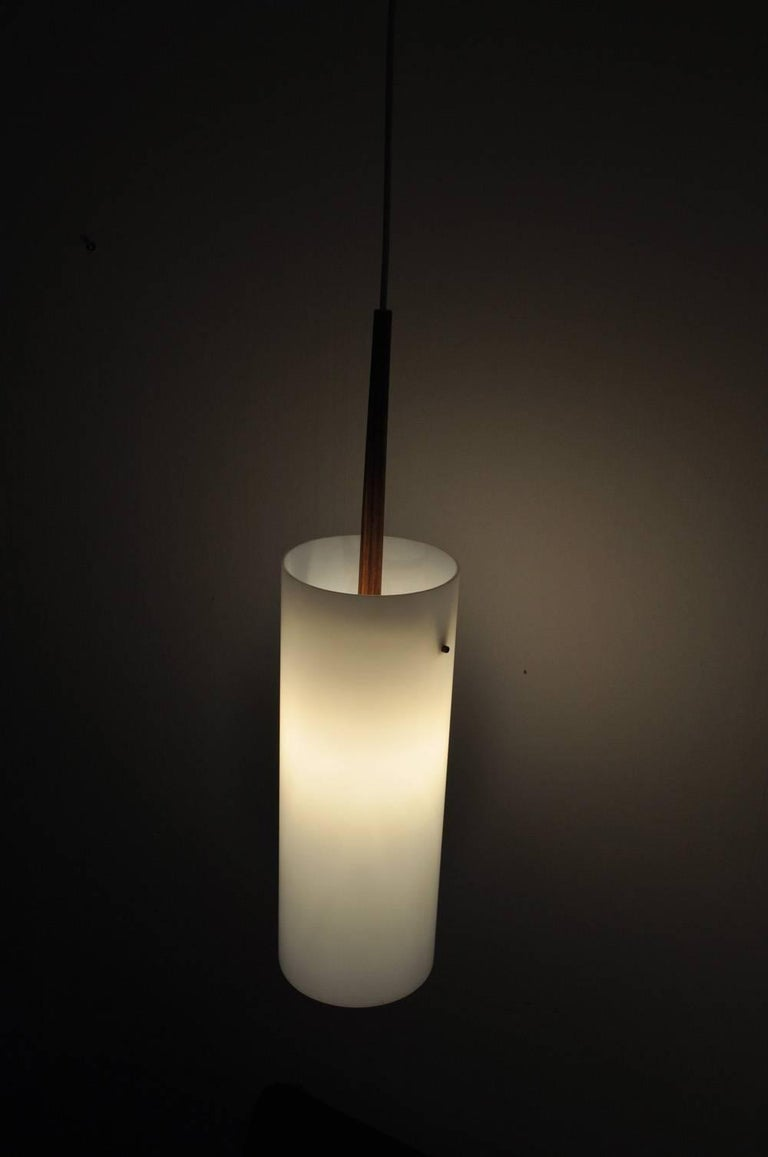 Large Pendant Lamp by Uno & Östen Kristiansson for Luxus 1950s-1960s, Sweden For Sale 5