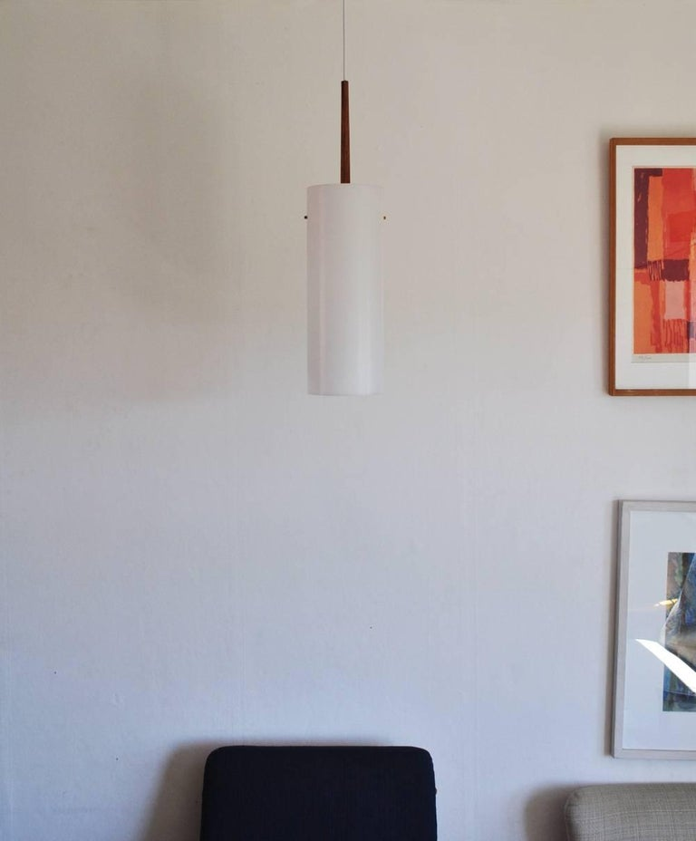 20th Century Large Pendant Lamp by Uno & Östen Kristiansson for Luxus 1950s-1960s, Sweden For Sale