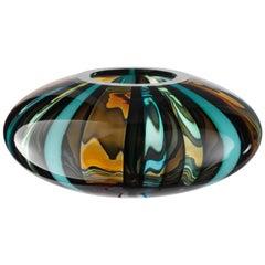Large Perles 1 Vase in Hand Blown by Salviati