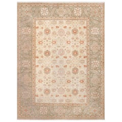 Large Persian Tabriz Design Modern Egyptian Rug