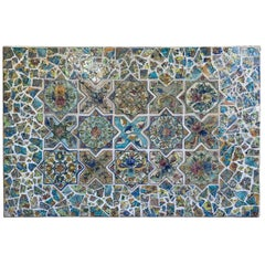 Large Persian Tile Wall Hanging