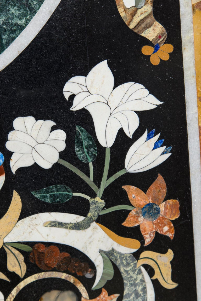 Large Petra Dura Rectangular Table Top For Sale 2